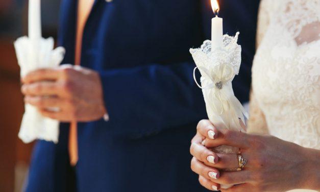 Brautkerze zur Hochzeit