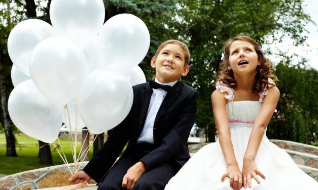 Kinderspiele zur Hochzeit