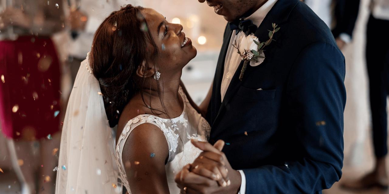 Der Eröffnungstanz des Brautpaares