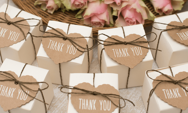 Geschenke an die Hochzeitsgäste