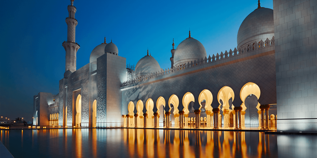 Wie in 1001 Nacht: Flitterwochen in Abu Dhabi