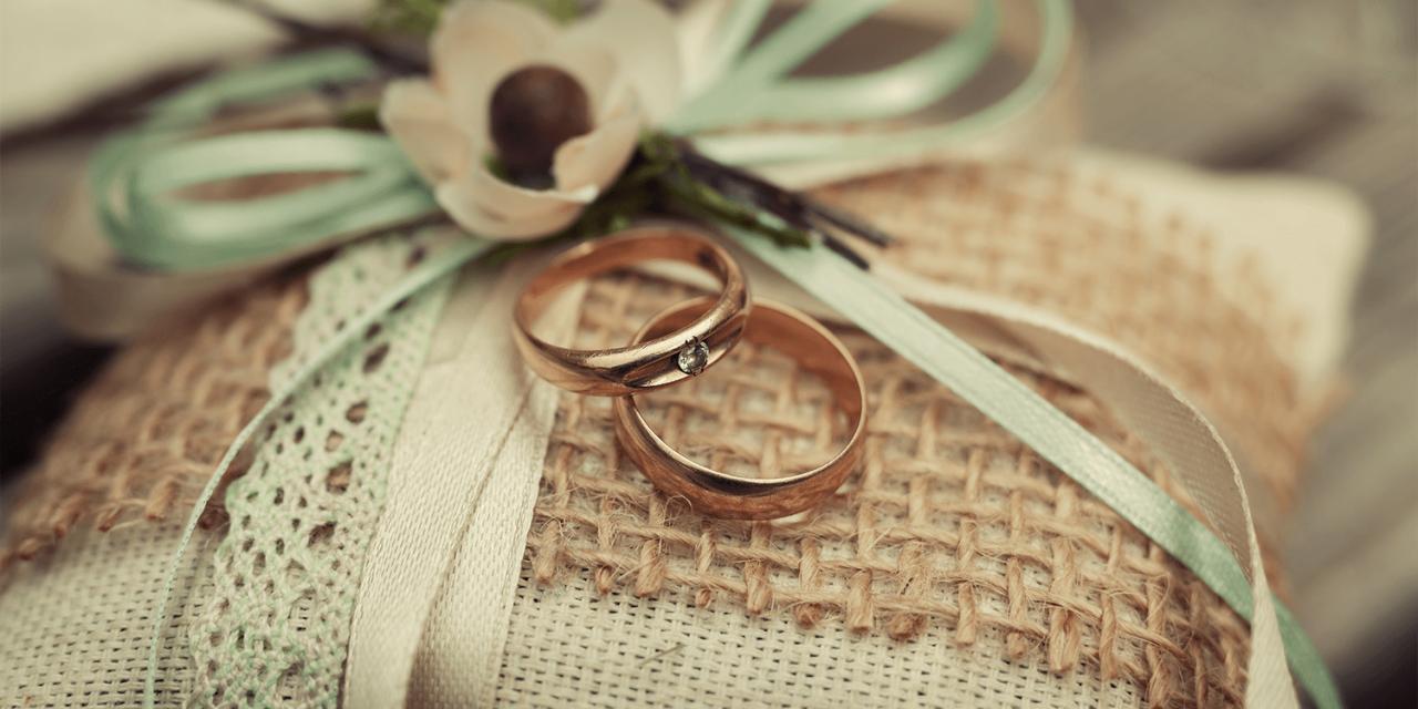 Das Ringkissen zur Hochzeit