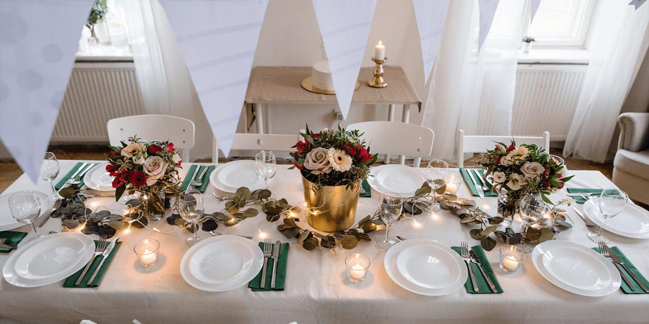 Persönliche Gestaltung der Hochzeit