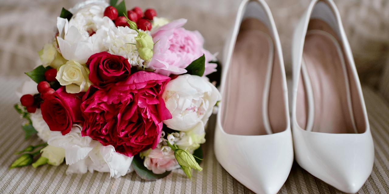 Die passenden Brautschuhe