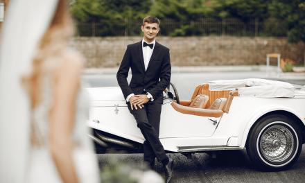 Das stilvolle Hochzeits- Gefährt